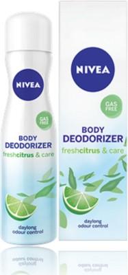 Nivea Fresh Citrus Deodorant Spray  -  For Women(120 ml)