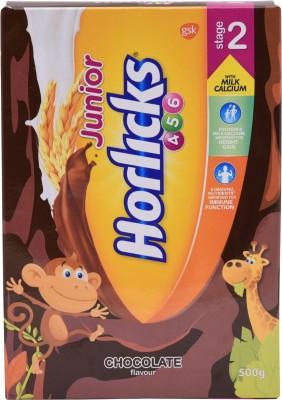 1 Off On Junior Horlicks Chocolate Flavour Stage 2 500 G On Flipkart Paisawapas Com