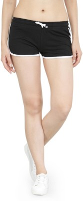 Kotty Solid Women Multicolor Night Shorts at flipkart