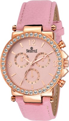 Swisstyle SS-LR625-PNK-PNK  Analog Watch For Women