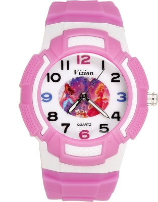 Vizion 8565AQ-4 Princesses Of Twin Castle Analog Watch For Girls