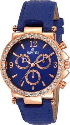 Swisstyle SS-LR625-BLU-BLU  Analog Watch For Women
