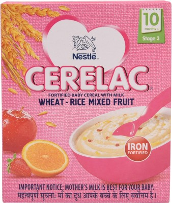 Nestle Wheat - Rice Mixed Fruit (Stage 3) Cereal(300 g)