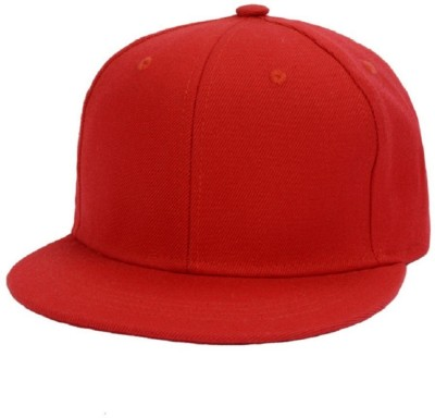 TakeInCart Solid Red Hip hop New York Cap
