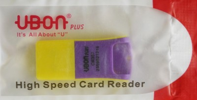 CREATOR UBON Plus High Speed Micro Card Reader(Yellow, Multicolor)