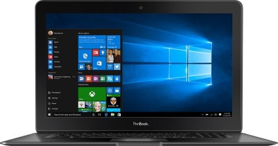 RDP ThinBook Atom Quad Core 7th Gen - (2 GB/32 GB EMMC Storage/Windows 10) 1130 Laptop(11.6 inch, Black, 1.2 kg)