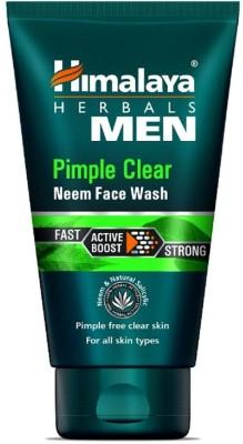 Himalaya Men Pimple Clear Neem Face Wash, 50ml