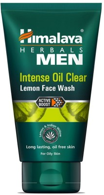 Himalaya Men Intense Oil Clear Lemon Face Wash (100ml)