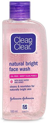 Clean & Clear Natural Bright Facewash, 100ml