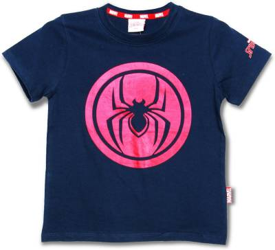 Marvel Spider Man Boy's Graphic Print Cotton T Shirt