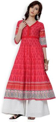 Vishudh Festive & Party Printed Women Kurti