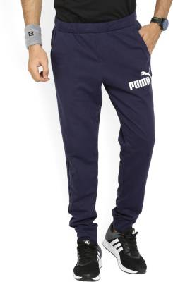 Puma Hemant Solid Men's Blue Track Pants