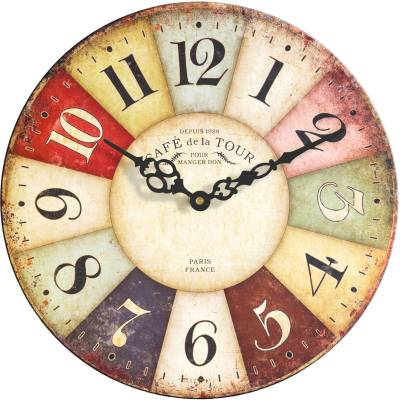 Basement Bazaar Analog 30.48 cm Dia Wall Clock