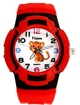 Vizion 8565AQ-6-1 TERU -The Little Tiger Analog Watch For Kids
