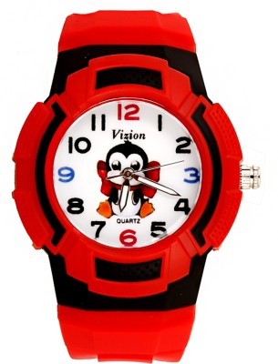 Vizion 8565AQ-6-3 Sutru-The Baby Penguin Collection Analog Watch  - For Boys & Girls