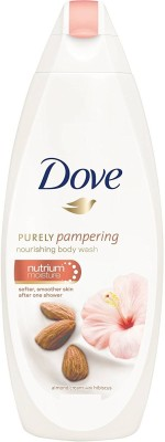 Dove Imported (Made in UK) Purely Pampering (Almond Cream & Hibiscus) Nourishing(500 ml)