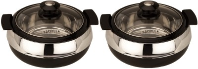 Jaypee Glasserol Twin Pack of 2 Casserole Set(1.6 L)