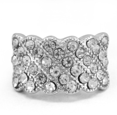 Fabfashion Vintage Design Alloy Silver Plated Ring at flipkart