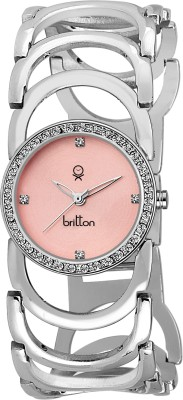 Britton BR-LR038-PNK-CH  Analog Watch For Girls