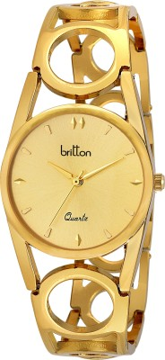 Britton BR-LR039-GLD-GLD  Analog Watch For Women