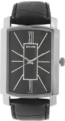 Sonata 7092SL05  Analog Watch For Unisex