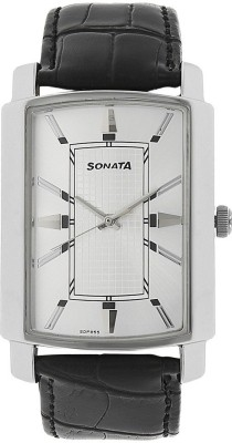 Sonata 7092SL04 Elite Analog Watch For Men