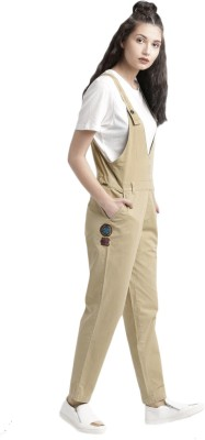 Roadster Women Brown Dungaree
