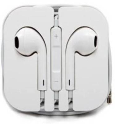 Ekambotics Extra Bass, Stereo, Wired, earphone (White, In the Ear) Headphone(White, In the Ear) 1