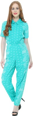 DARZI Printed Women's Jumpsuit  available at flipkart for Rs.444