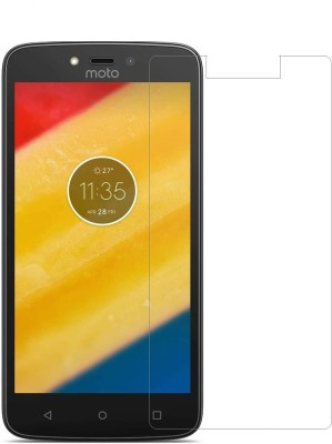 Cell loid Tempered Glass Guard for Motorola Moto C Plus Pack of 1 Cell loid Screen Guards