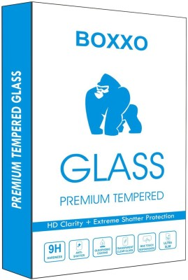 Boxxo Tempered Glass Guard for Lenovo S860(Pack of 1)