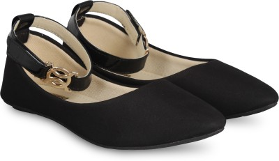Anand Archies Bellies For Women(Black)