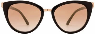 Opium Cat-eye Sunglasses(Brown) at flipkart