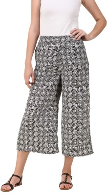 Delux Look Regular Fit Women White Trousers at flipkart