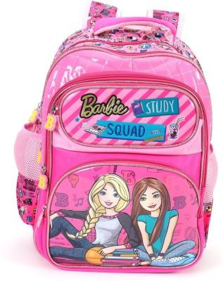 Barbie Barbie Squad Pink School Bag 16 inches School Bag(Pink, 16 inch)