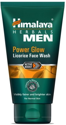 Himalaya Men Power Glow Licorice Face Wash(50 ml)