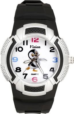 Vizion 8565AQ-1-1 FUNGU -The Dancing Penguin Analog Watch For Kids