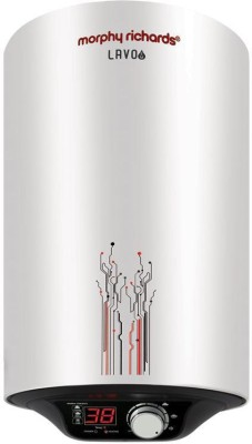 MORPHY 25 L Storage Water Geyser (Lavo EM Digital, Silver White)