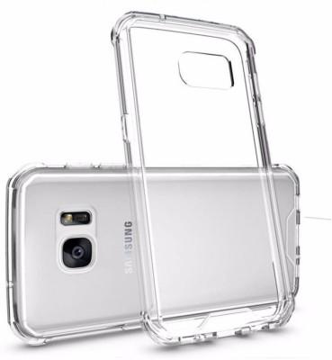 Mozette Back Cover for Samsung Galaxy S7 Edge Transparent