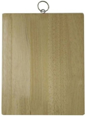 Tranduious 20X30 Eco-Friendly Vegetable cutting board Wood Cutting Board(Beige Pack of 1) at flipkart