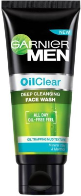 Garnier Men Oil Clear Deep Cleansing Face Wash(100 g)  available at flipkart for Rs.160