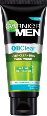 Garnier Men Oil Clear Deep Cleansing Face Wash - 50g