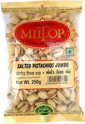 MilTop Jumbo nuts Pistachios(250 g, Pouch)