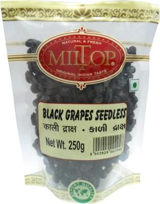 MilTop Black Kishmish Raisins(1 kg, Pouch)