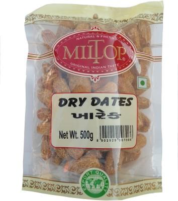 MilTop dates Dry Dates(1 kg, Pouch)