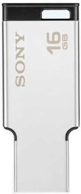 Sony USM16MX 16 GB USB 2.0 Metal Pen Drive Silver