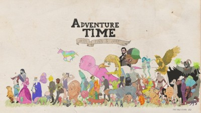 adventure time jake the dog finn the human cartoon poster on fine art paper 13x19 Fine Art Print(19 inch X 13 inch, Rolled)  available at flipkart for Rs.180