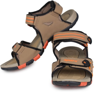 Sparx Men Camel Orange Sports Sandals