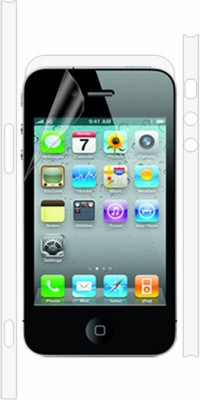 Robobull Front and Back Screen Guard for Apple iPhone 4, Apple iPhone 4s(Pack of 1)