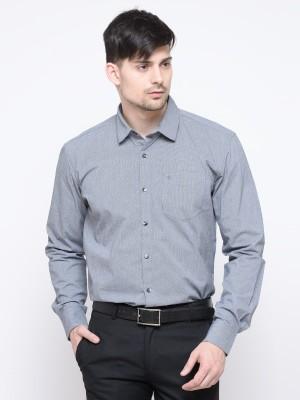 La Seven Men Solid Casual Slim Shirt